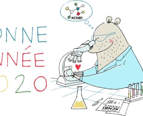 Illustration de Dominique Le Bagousse pour la nouvelle année 2020